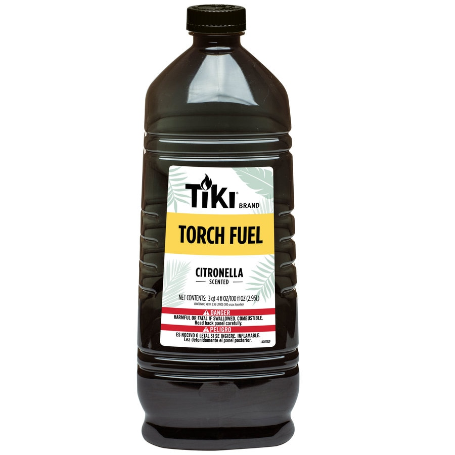 TIKI 100-oz Fuel The Fun (Torch Fuel) Citronella Torch Fuel