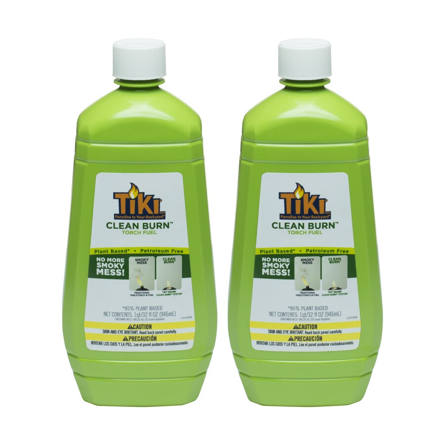 TIKI 2-Pack 32-fl oz Clean Burn Torch Fuel