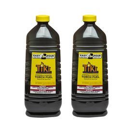 TIKI 2 Pack 100 Fl Oz Citronella Torch Fuel
