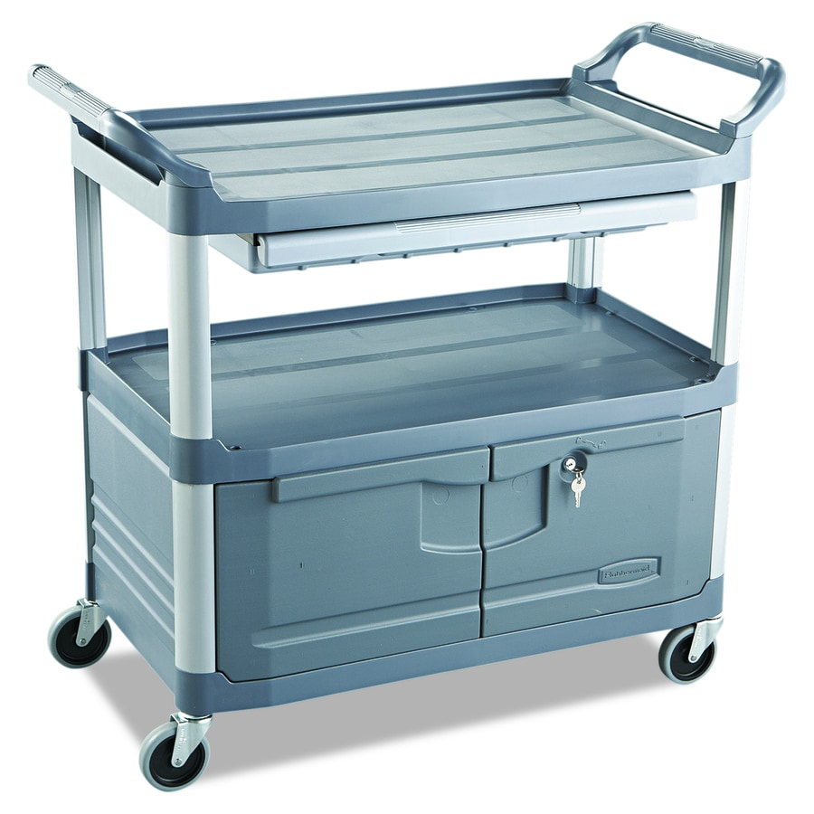 Rubbermaid Commercial Products 37.8-in 1-Drawer Utility Cart