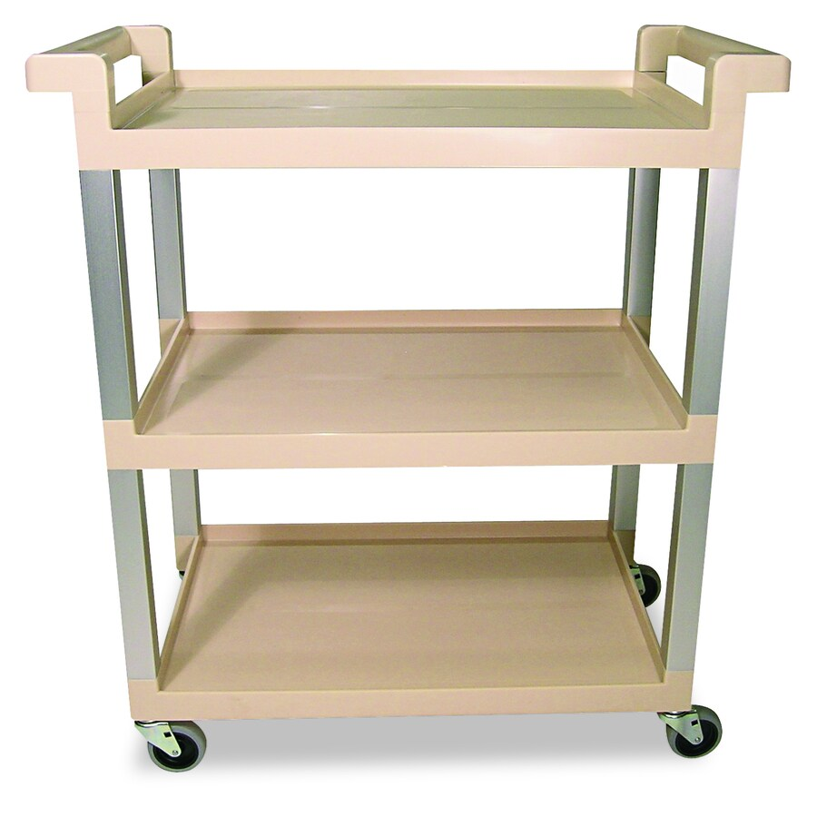 Alera Industrial Kitchen Carts At Lowes Com: Shop Rubbermaid Commercial Products 36-in Utility Cart At