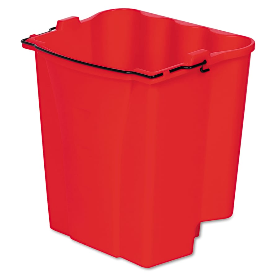 Rubbermaid Commercial Products WaveBrake 18-Quart Commercial Mop Wringer Bucket