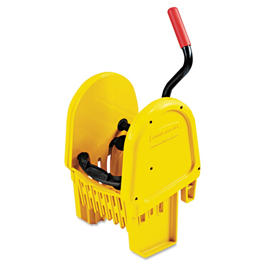 Rubbermaid Commercial Products WaveBrake 8.75-Gallon Commercial Mop Wringer Bucket