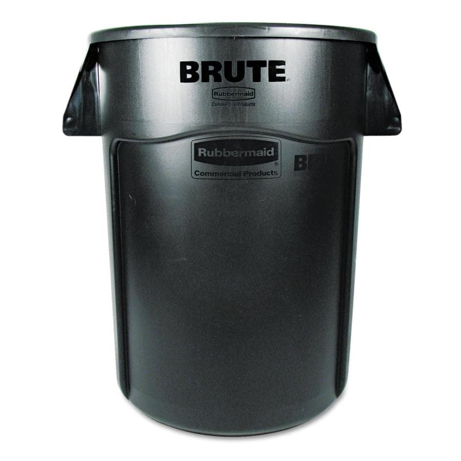 Rubbermaid Commercial Products Brute 44 Gallon Black Plastic