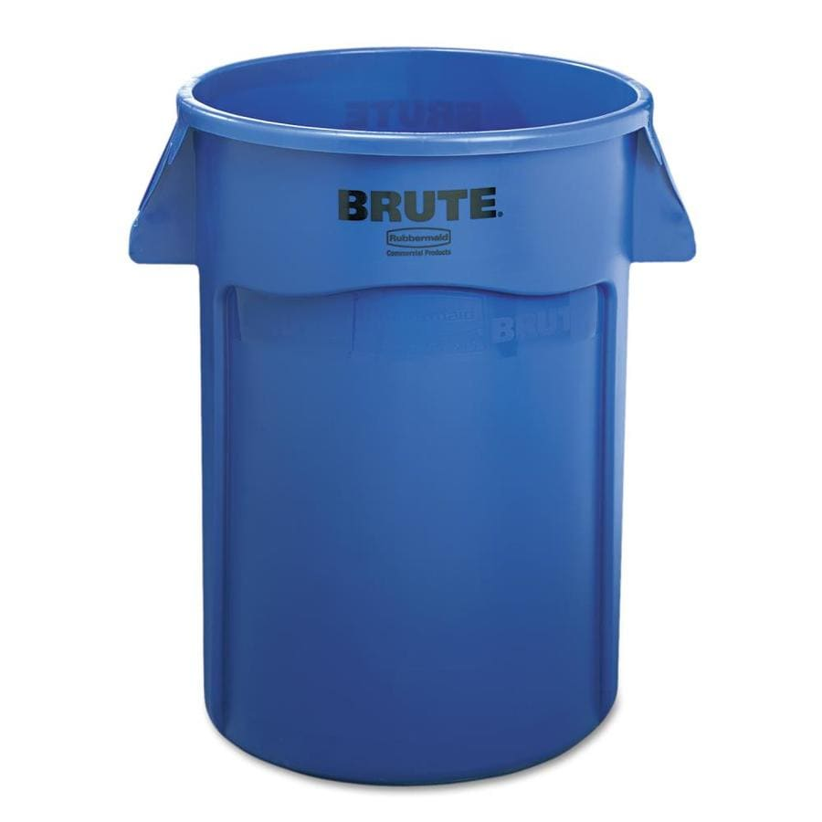 rubbermaid commercial products brute 44-gallon blue