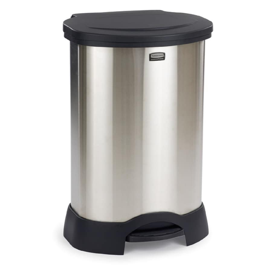 30 Gallon Kitchen Trash Can: Shop Rubbermaid Commercial Products Step-On 30-Gallon