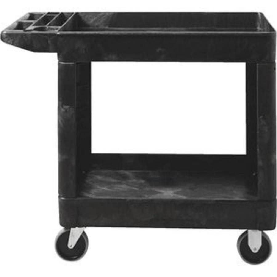 Alera Industrial Kitchen Carts At Lowes Com: Shop Rubbermaid Commercial Products 33.25-in Utility Cart
