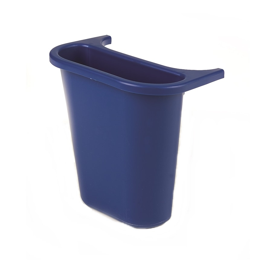 Rubbermaid Commercial Products Blue Commercial Recycling Bin