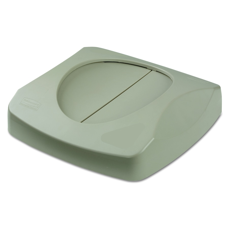 Rubbermaid Commercial Products Gray Plastic Kitchen Trash Can Lid