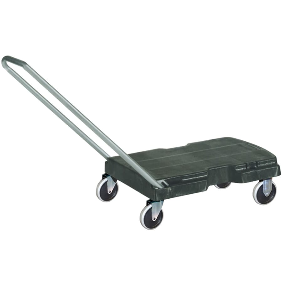 Rubbermaid Commercial Products 500-lb Capacity Black Resin Dolly