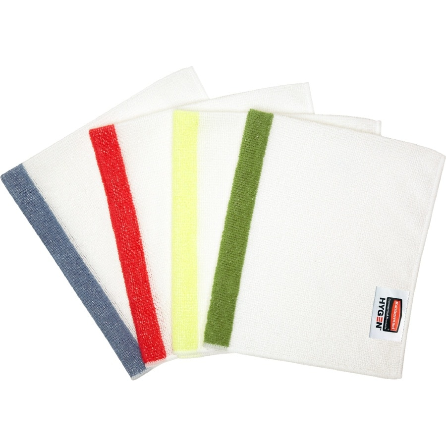 Rubbermaid Commercial Products 4-Pack Microfiber Cloths