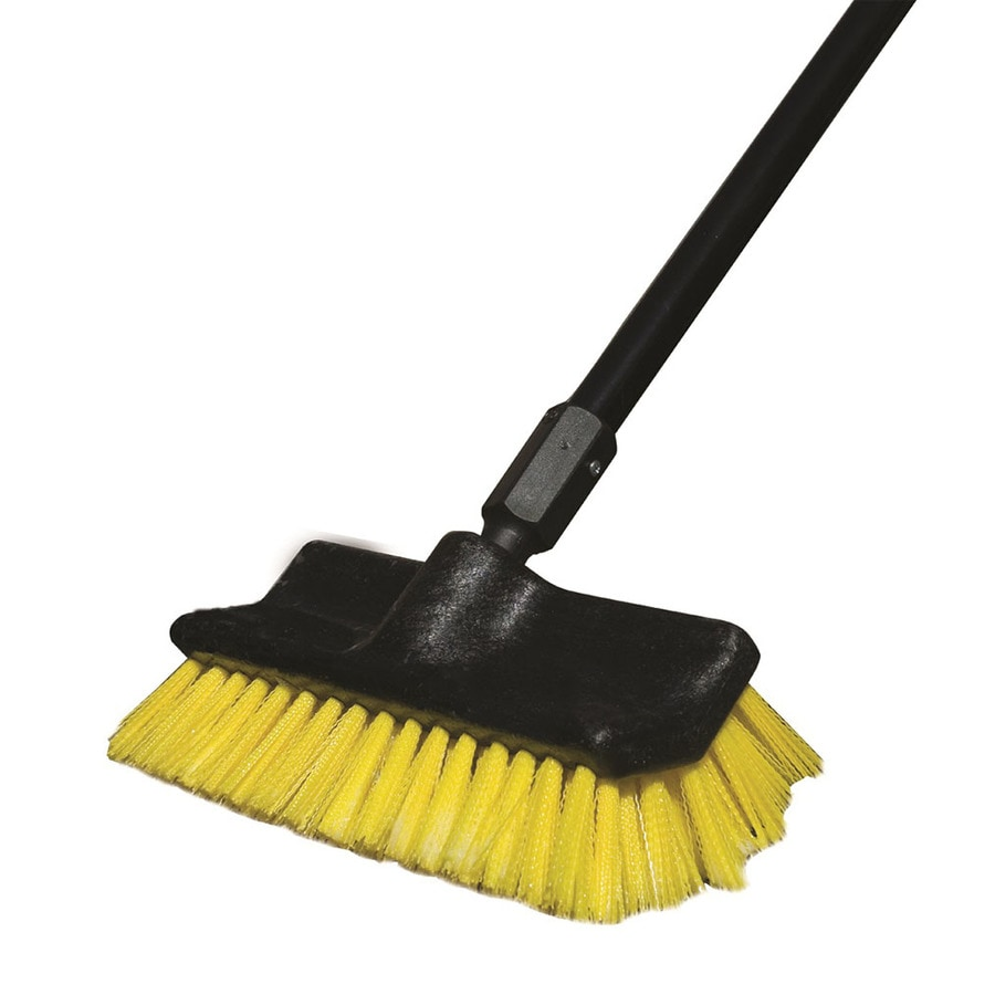 Rubbermaid Commercial Products 10-in Poly Fiber Stiff Push Broom