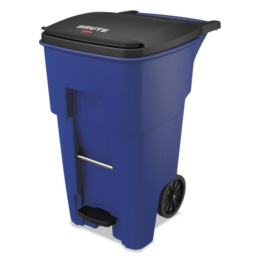 Rubbermaid Commercial Products Brute 65 Gallon Blue