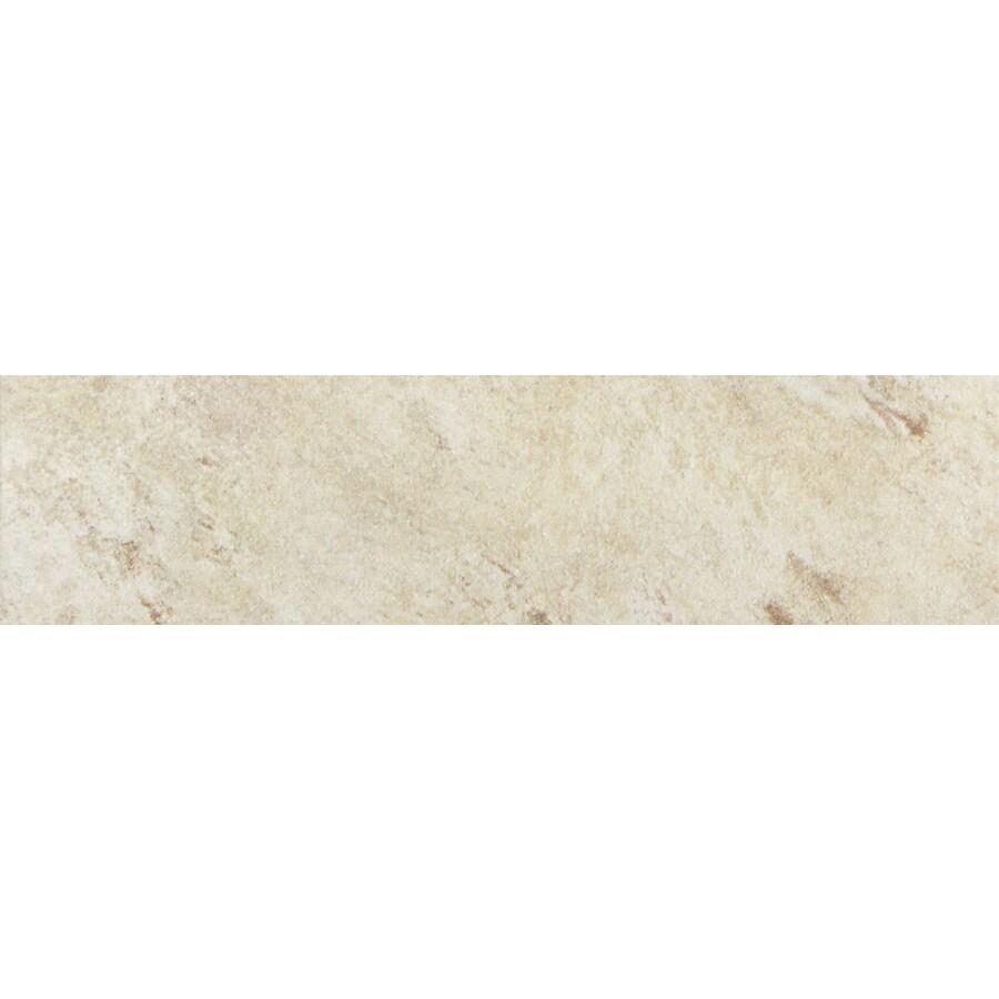 FLOORS 2000 Toscana Beige Porcelain Bullnose Tile (Common: 3-in x 13-in; Actual: 3-in x 12.92-in)