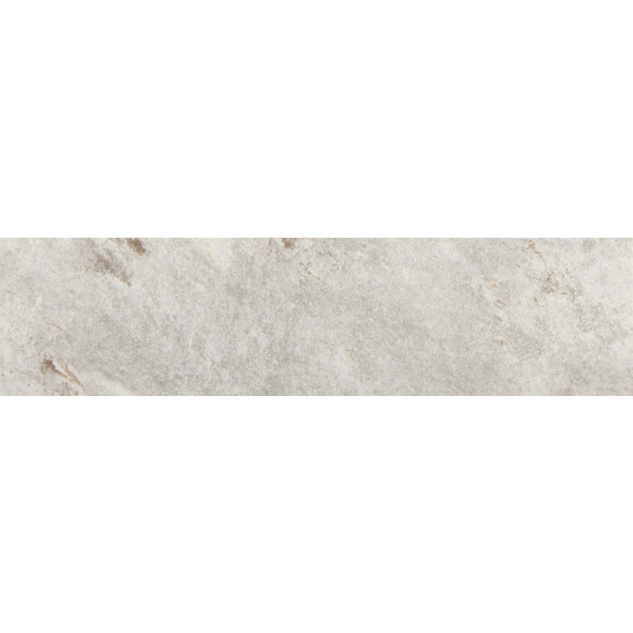 FLOORS 2000 Toscana Grey Porcelain Bullnose Tile (Common: 3-in x 13-in; Actual: 3-in x 12.92-in)