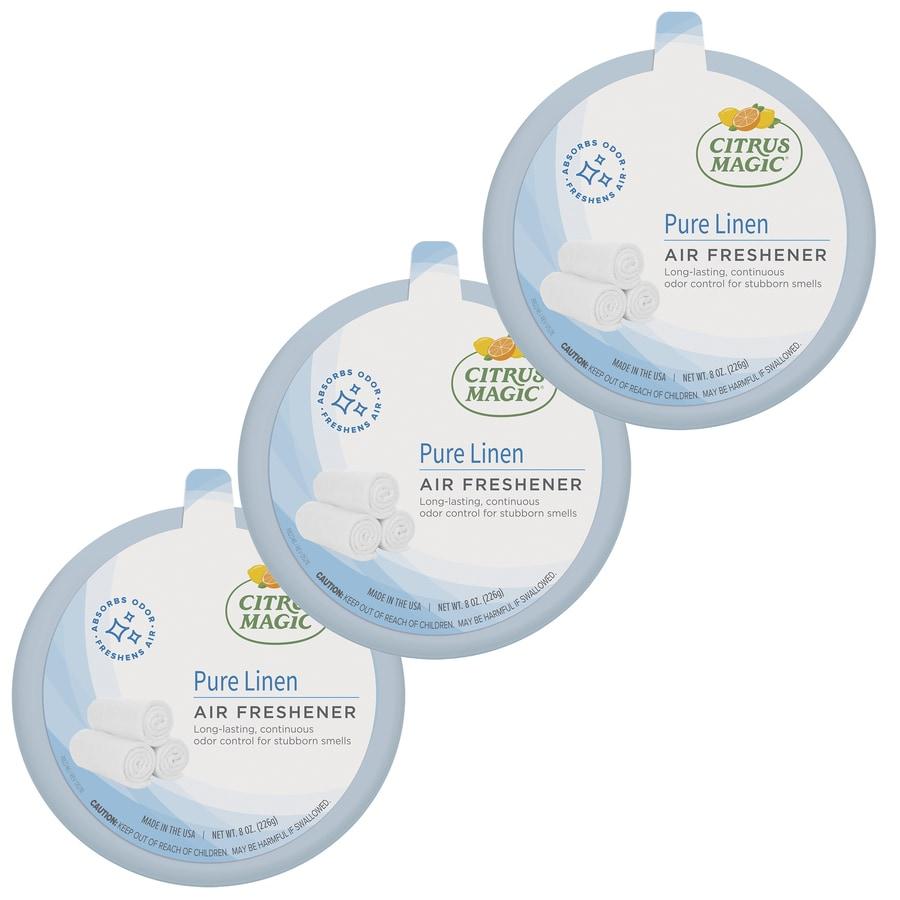 Citrus Magic Citrus Magic 3-Pack 8-oz Linen Odor Absorbing Solid Air Freshener