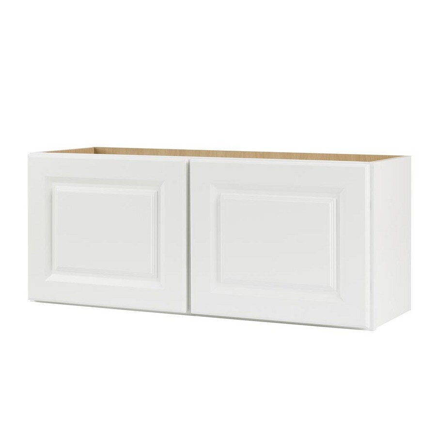 Continental Cabinets Inc 30 X 15 White Wall Cabinet