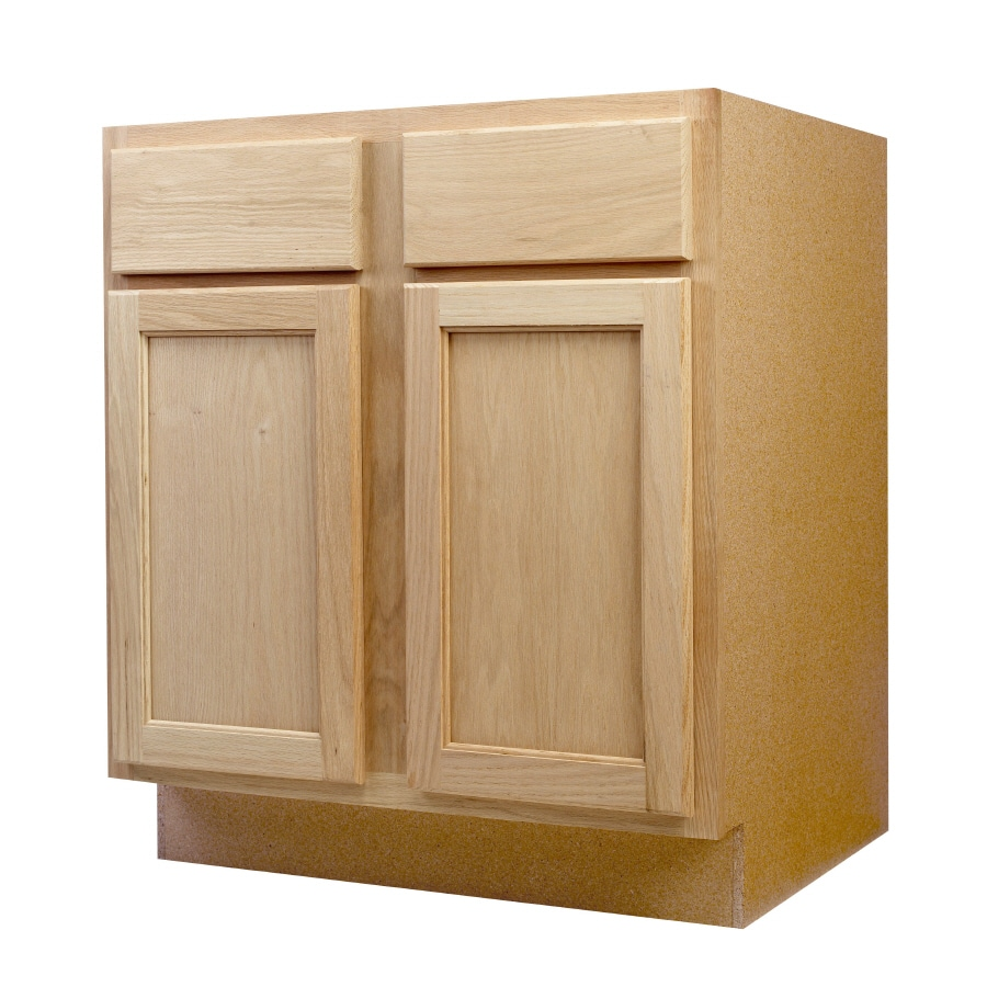 Shop continental cabinets inc 30 in w x 34 5 in h x 24 for Kitchen cabinets 30 x 24