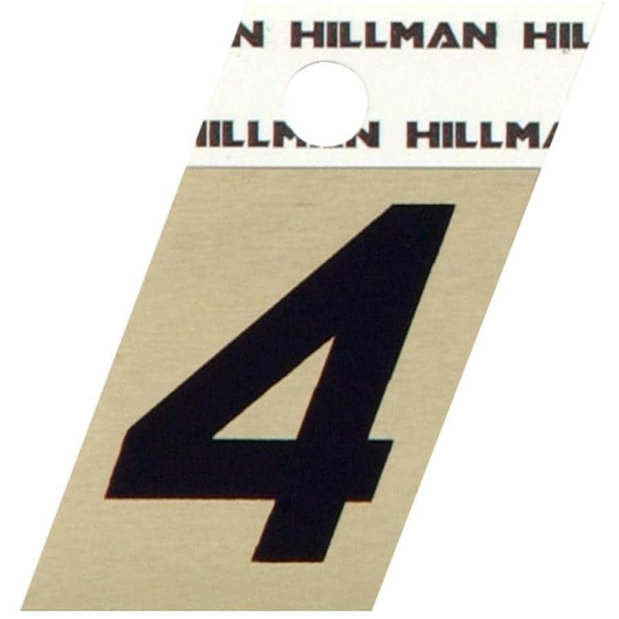 Shop hillman 24 in house number 4 at lowescom for House letters lowes