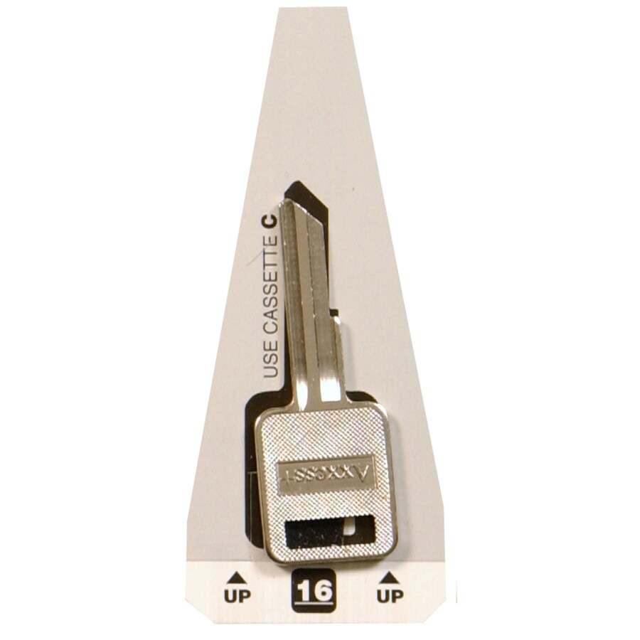 Hillman Brass Automotive Key Blank