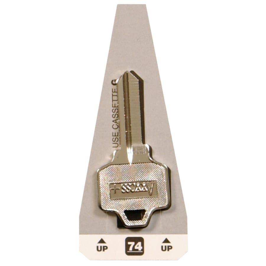Hillman Brass Key Blank