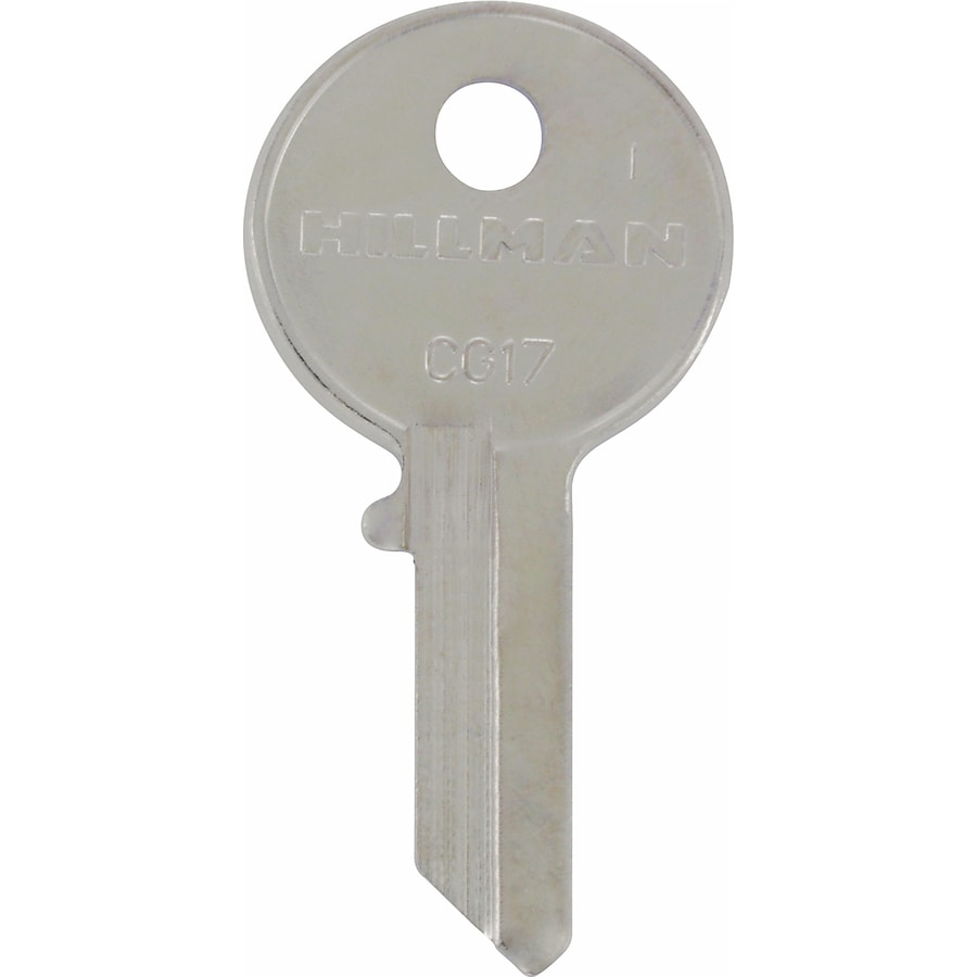 The Hillman Group Brass House/Entry Key Blank