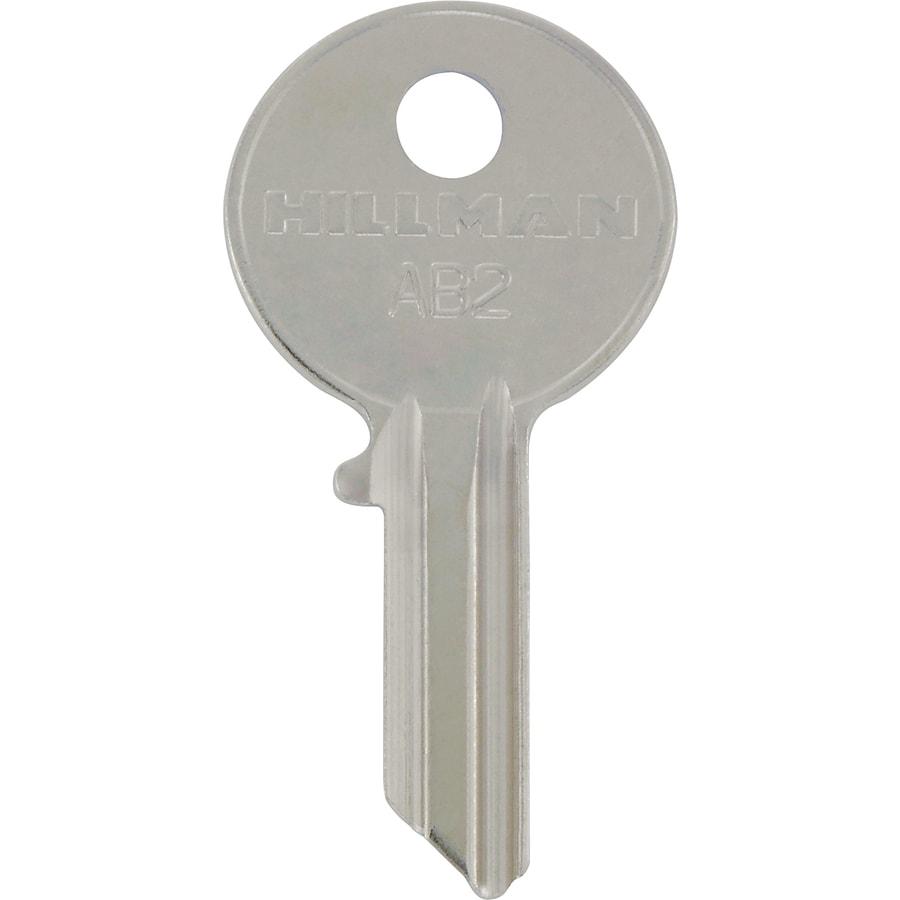 The Hillman Group Brass Padlock Key Blank