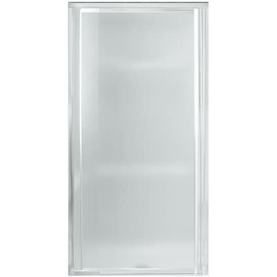 Frosted Patterned Shower Doors At Lowes Com