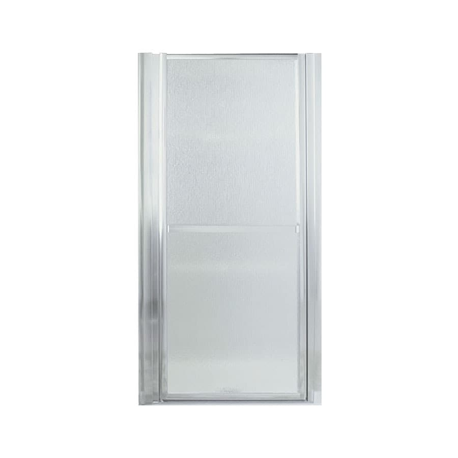Sterling Finesse 30.5-in to 33.5-in W; to D Framed Silver Hinged Shower Door