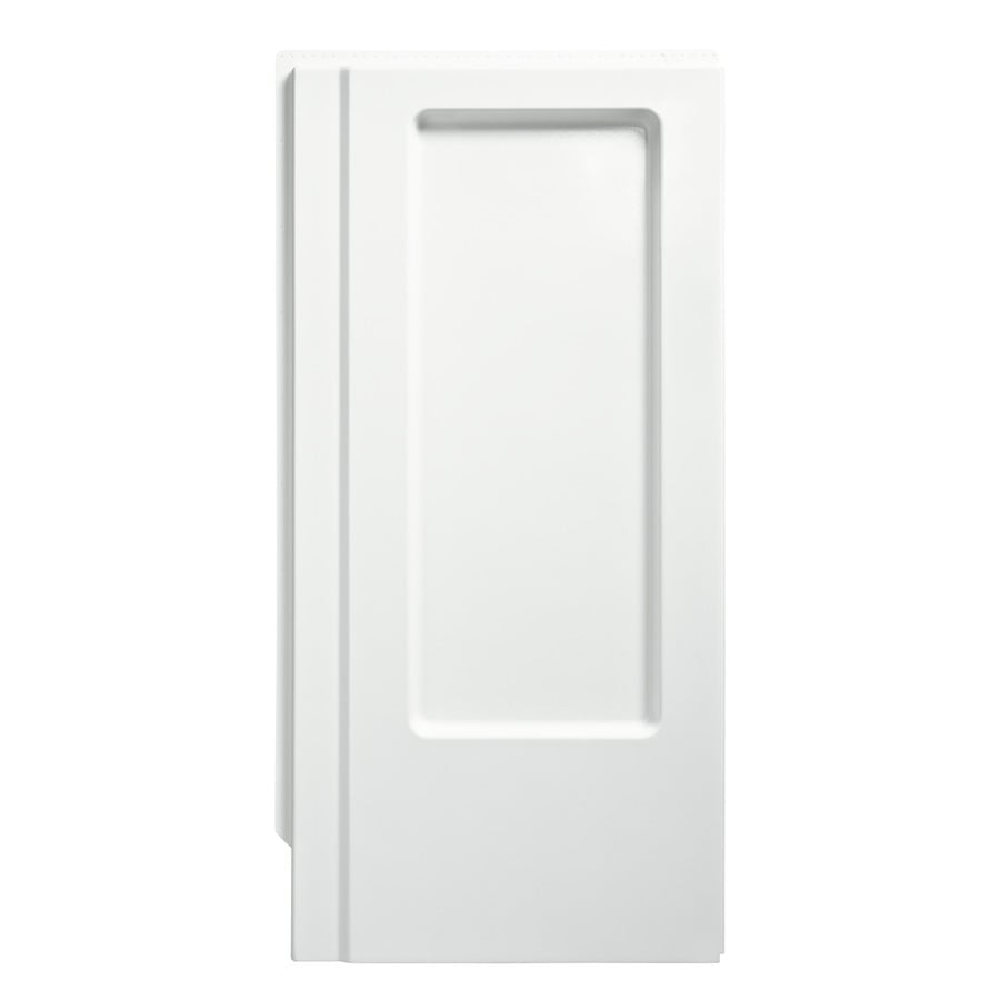 Sterling Advantage White Shower Wall Surround Side Panel (Common: 0.25-in x 34-in; Actual: 66.25-in x 0.25-in x 34-in)