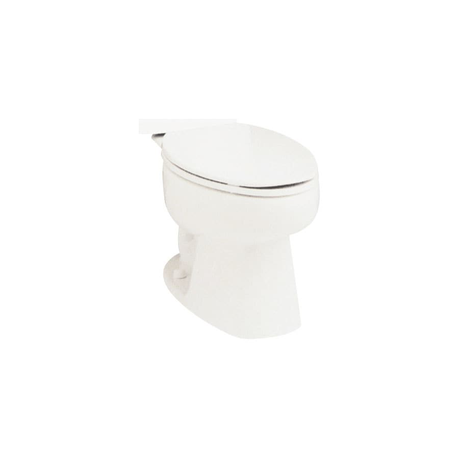 Sterling Biscuit Elongated Standard Height Toilet Bowl