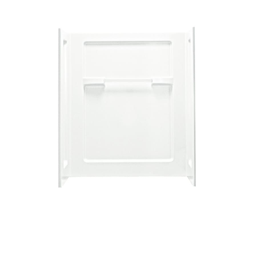 Sterling Shower Wall Surround Corner Wall Panel (Common: 36-in x 2.875-in; Actual: 55.25-in x 35.25-in x 2.875-in)