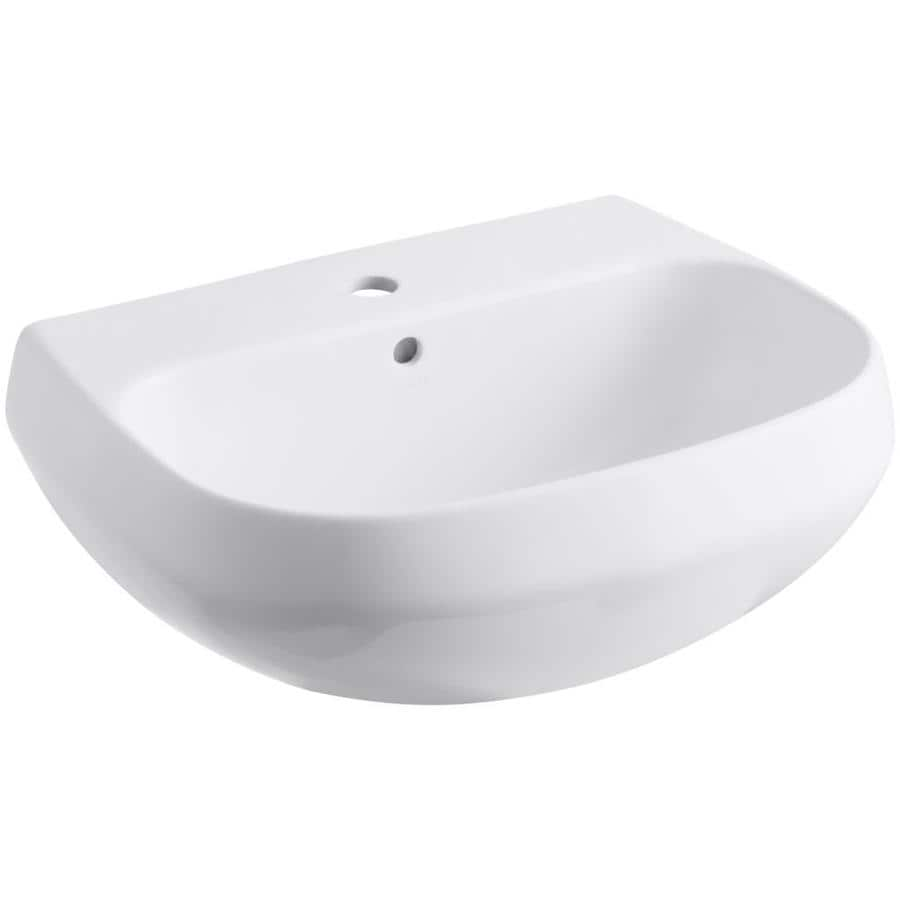 Kohler Pedestal Sink Black with Kohler Wellworth Pedestal Sink With ...