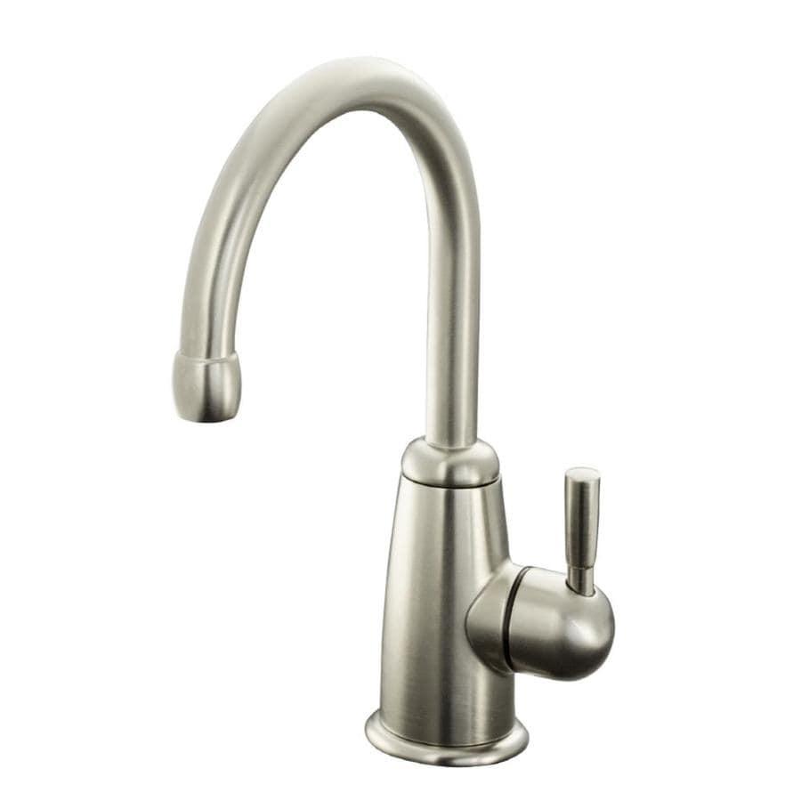 KOHLER Wellspring Vibrant Brushed Nickel 1-Handle Bar and Prep Faucet