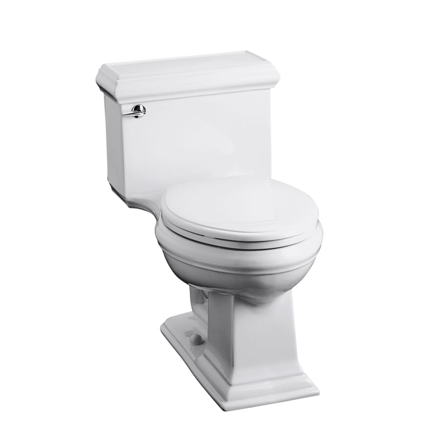 KOHLER Memoirs White 1.6-GPF (6.06-LPF) 12 Rough-In Elongated 1-Piece Chair Height Toilet