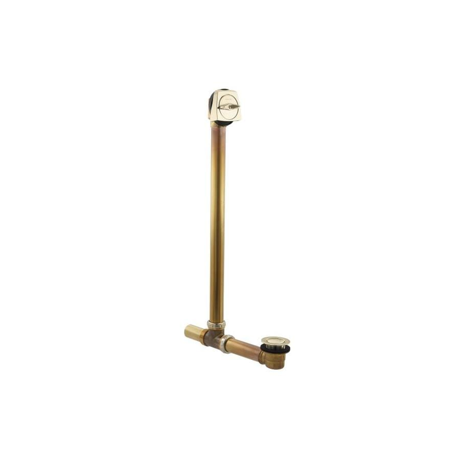 KOHLER 1-1/2-in Vibrant French Gold Triplever with Brass Pipe