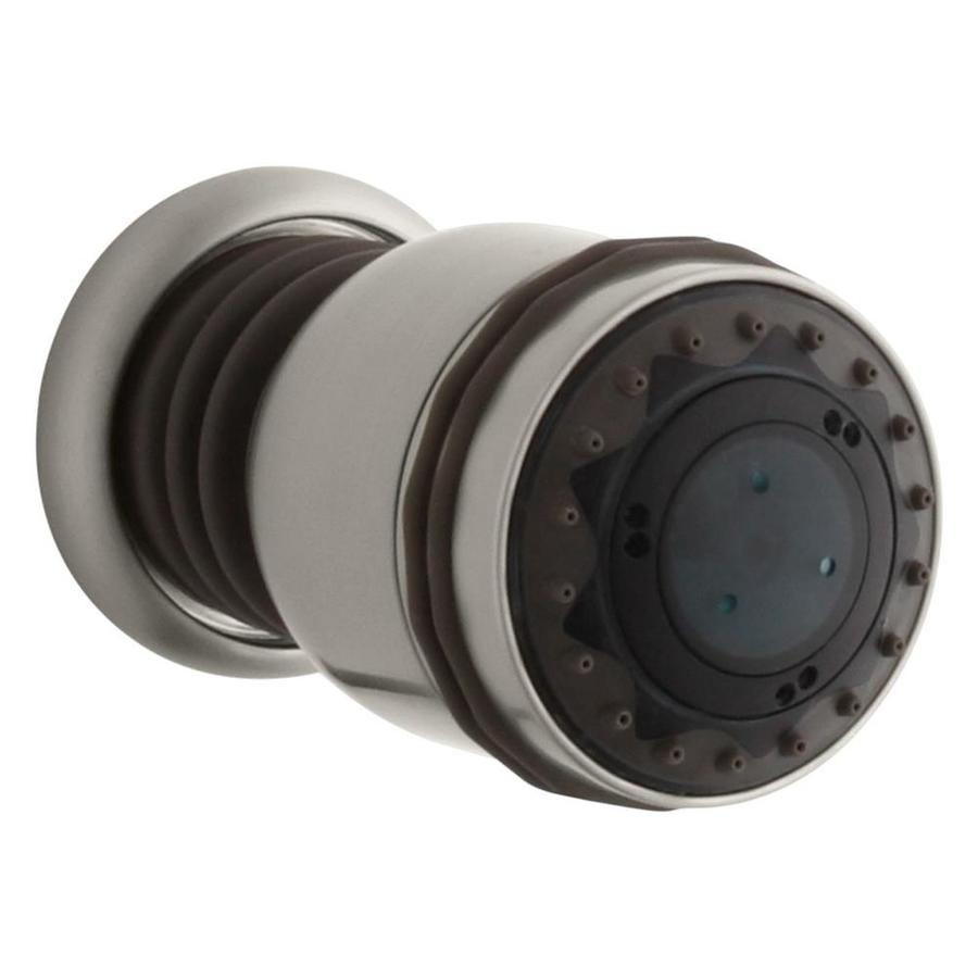 KOHLER MasterShower 2.875-in 2.5-GPM (9.5-LPM) Vibrant Brushed Nickel 3-Spray Showerhead