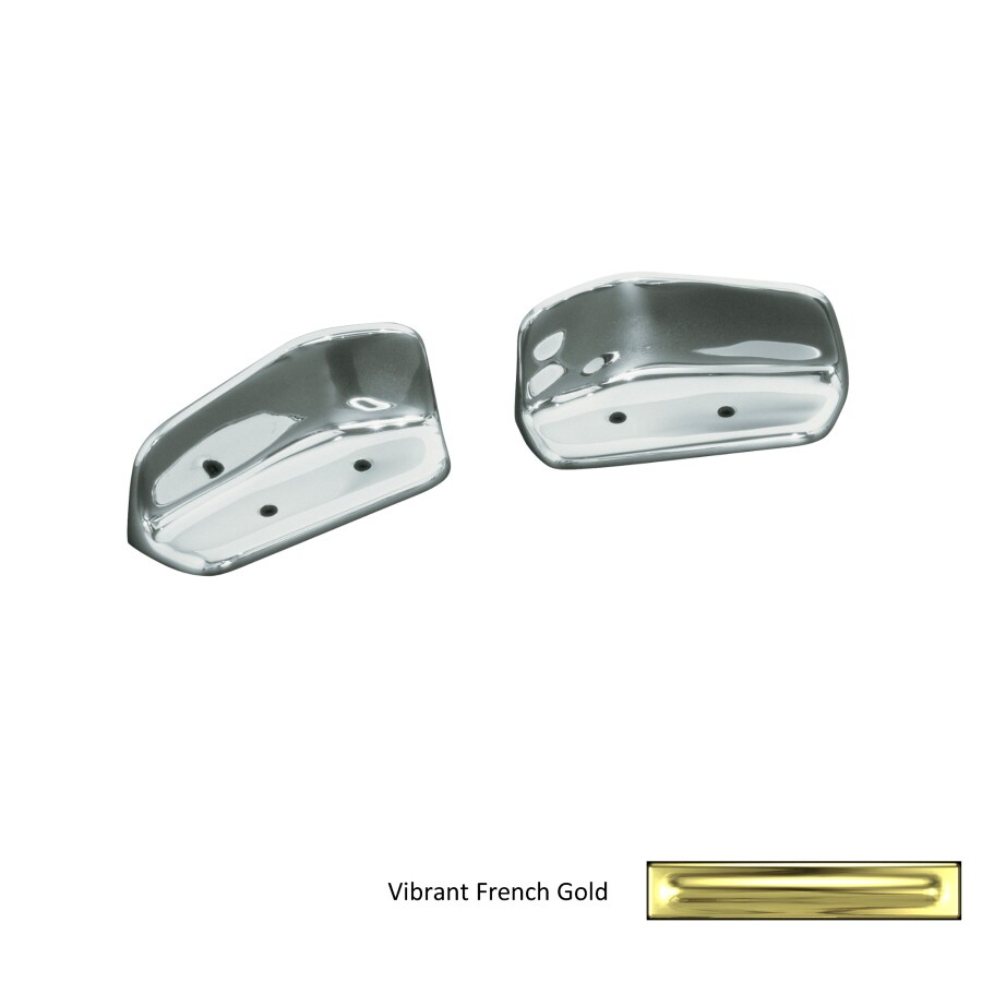KOHLER Vibrant French Gold Wall Mount Grab Bar