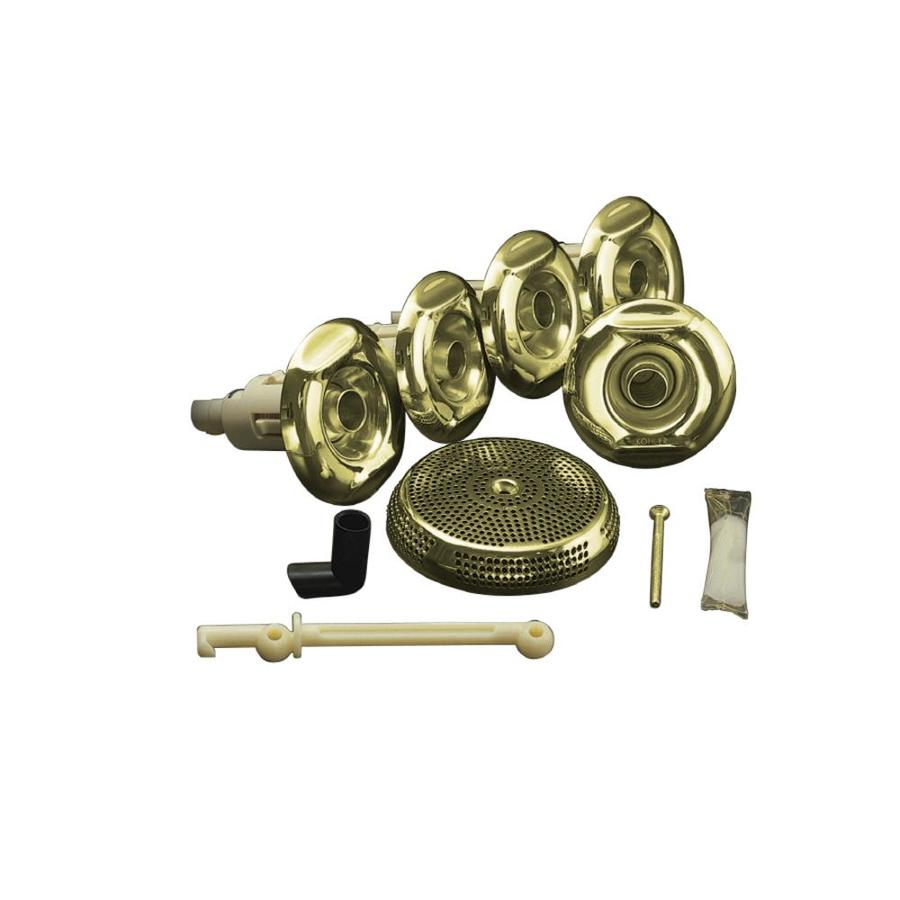KOHLER Flexjet Whirlpool Trim Kit, Vibrant French Gold