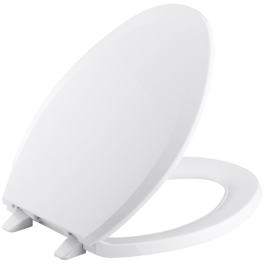 KOHLER Lustra Plastic Elongated Toilet Seat