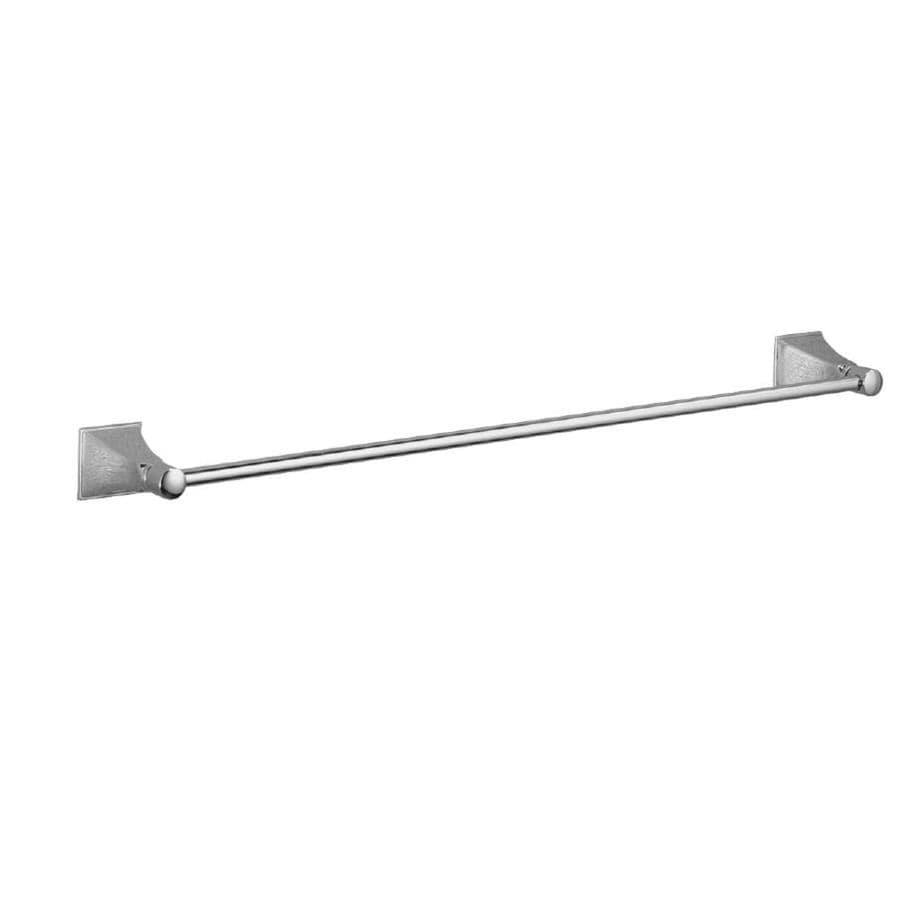 KOHLER Memoirs Polished Chrome Single Towel Bar (Common: 24-in; Actual: 25.875-in)