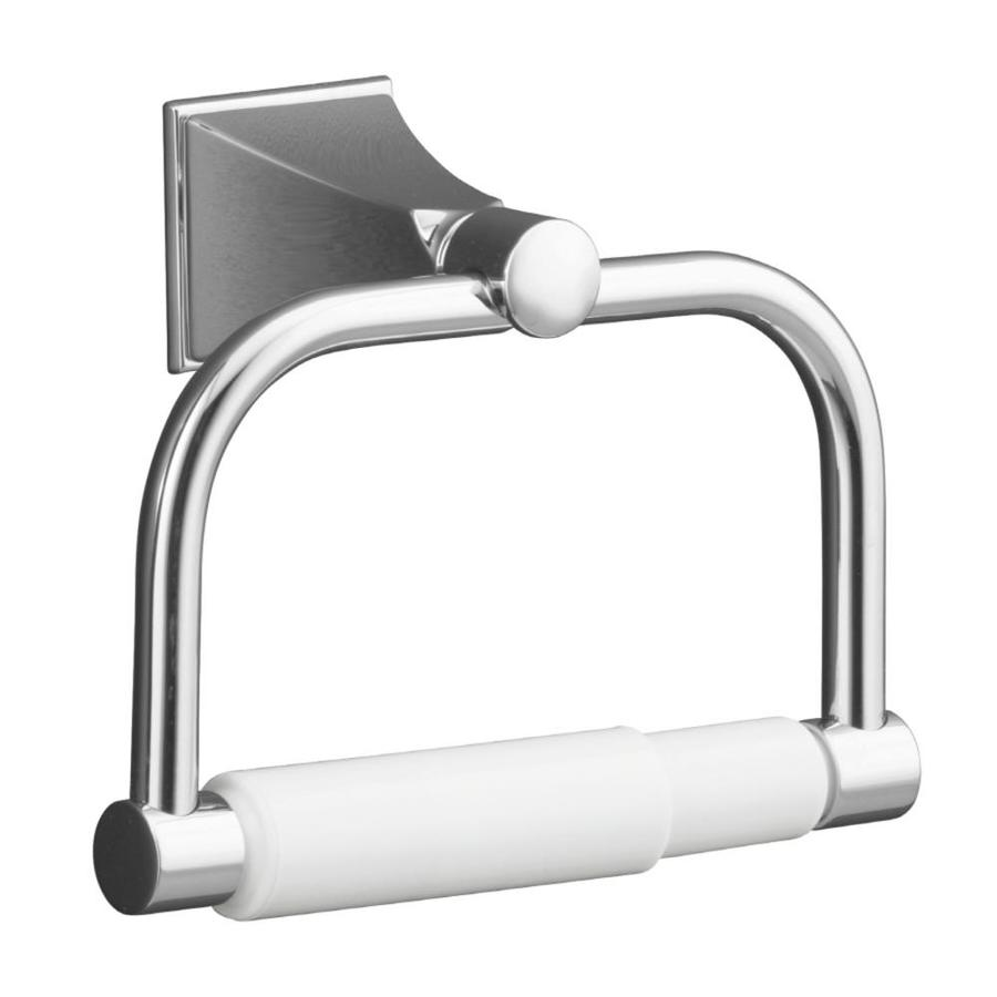 KOHLER Memoirs Polished Chrome Surface Mount Spring-Loaded Toilet Paper Holder