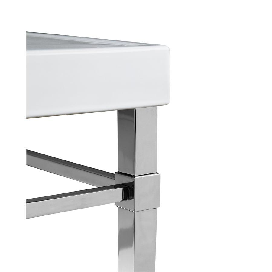 Chrome Leg Bathroom Vanity