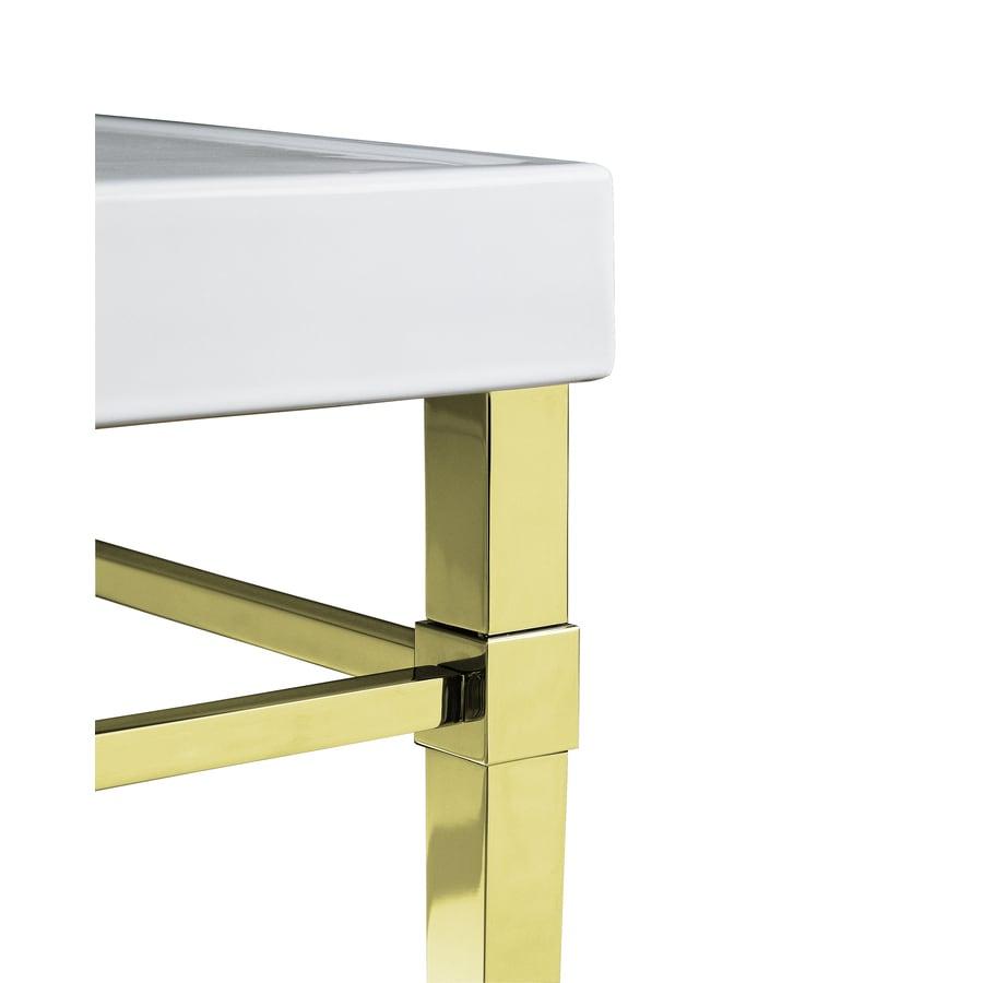 Shop Kohler Vibrant French Gold Bathroom Vanity Legs At Lowes Com