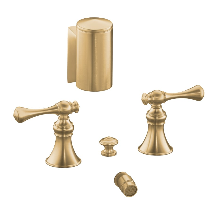 KOHLER Revival Vibrant Brushed Bronze Vertical Spray Bidet Faucet with Trim Kit