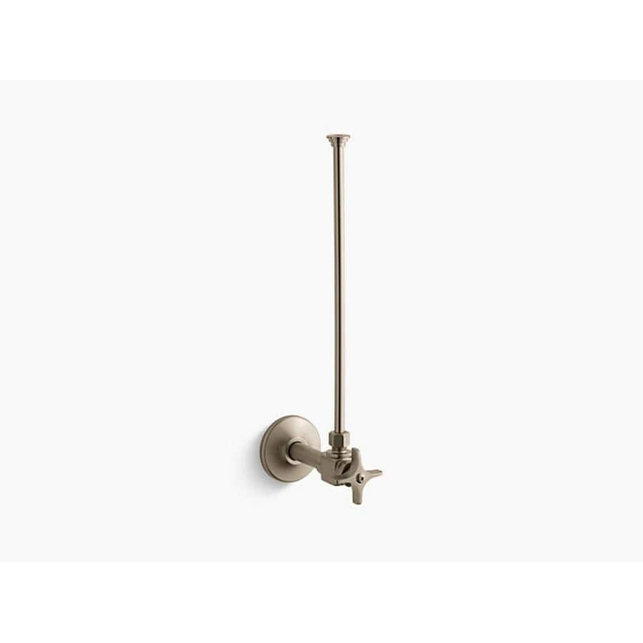KOHLER 3/8-in Compression 3.625-in Brass Toilet Supply Line