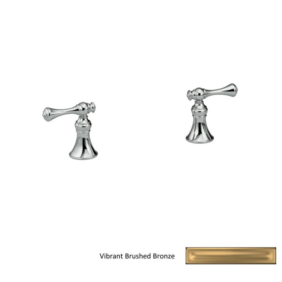 KOHLER Revival Vibrant Brushed Bronze 2-Handle Fixed Deck Mount Bathtub Faucet