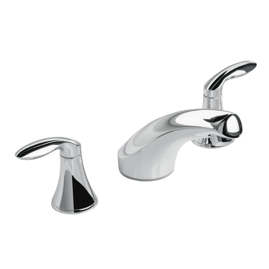 Shop KOHLER Coralais Polished Chrome 2-Handle WaterSense Bathroom ...