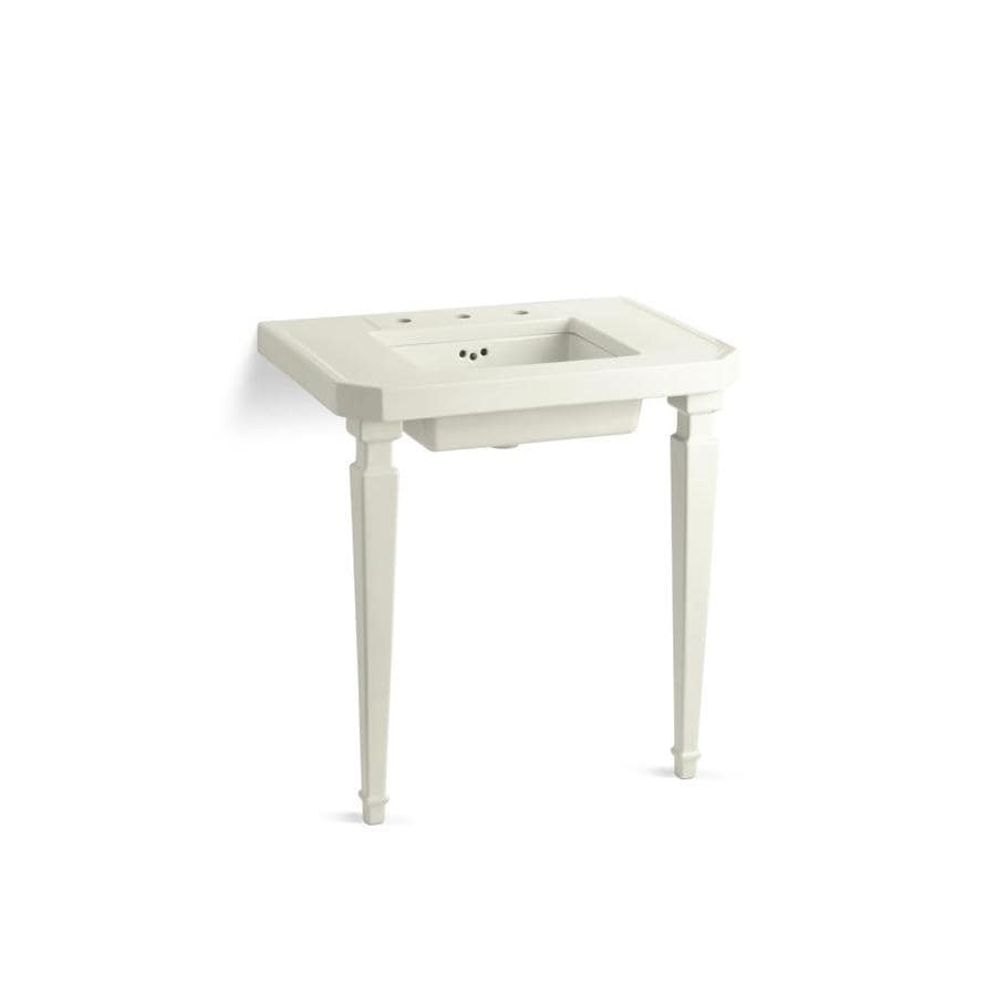 KOHLER Kathryn Biscuit Fire Clay Sink Sold Separately Bathroom Vanity Top (Common: 32-in x 22-in; Actual: 32-in x 22-in)