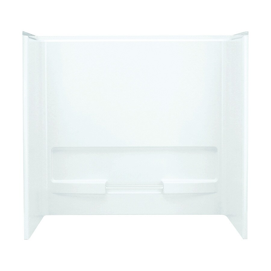 Sterling Advantage White Vikrell Bathtub Wall Surround